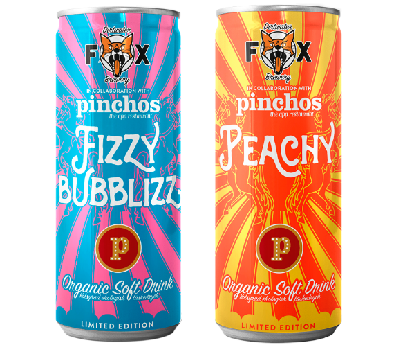 peachy and fizzy